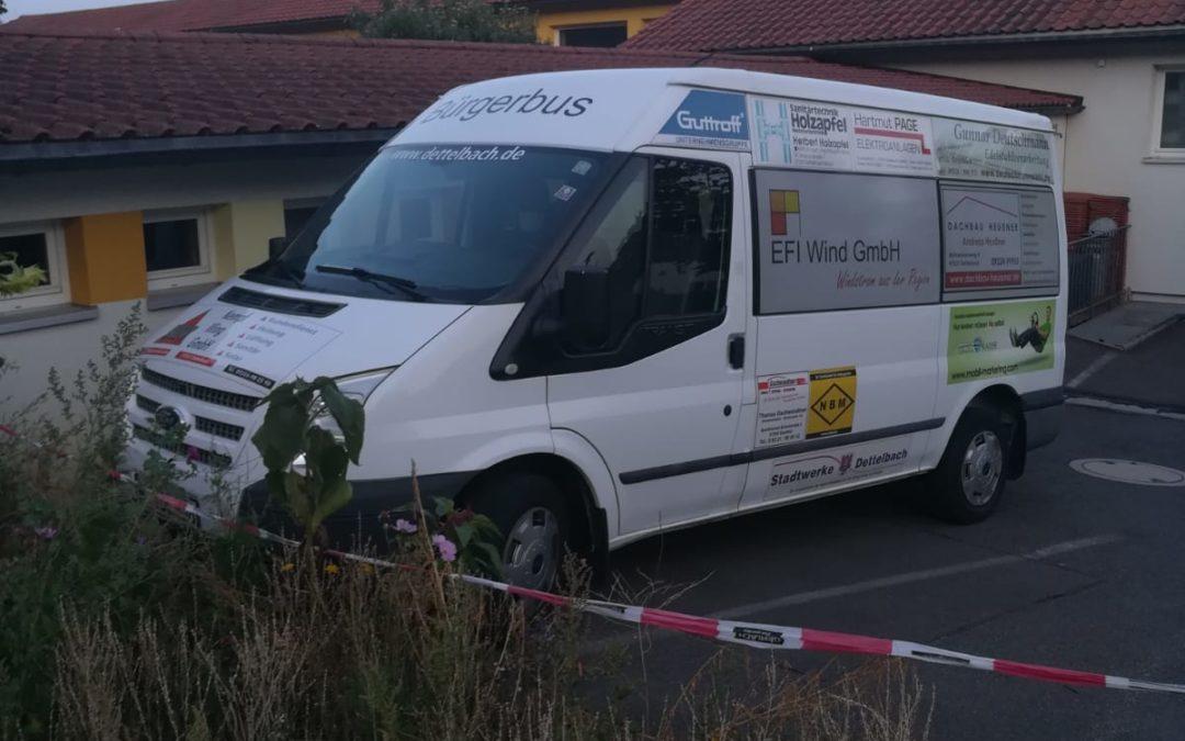 Der Dettelbacher Bürgerbus – Chance oder nutzlos?