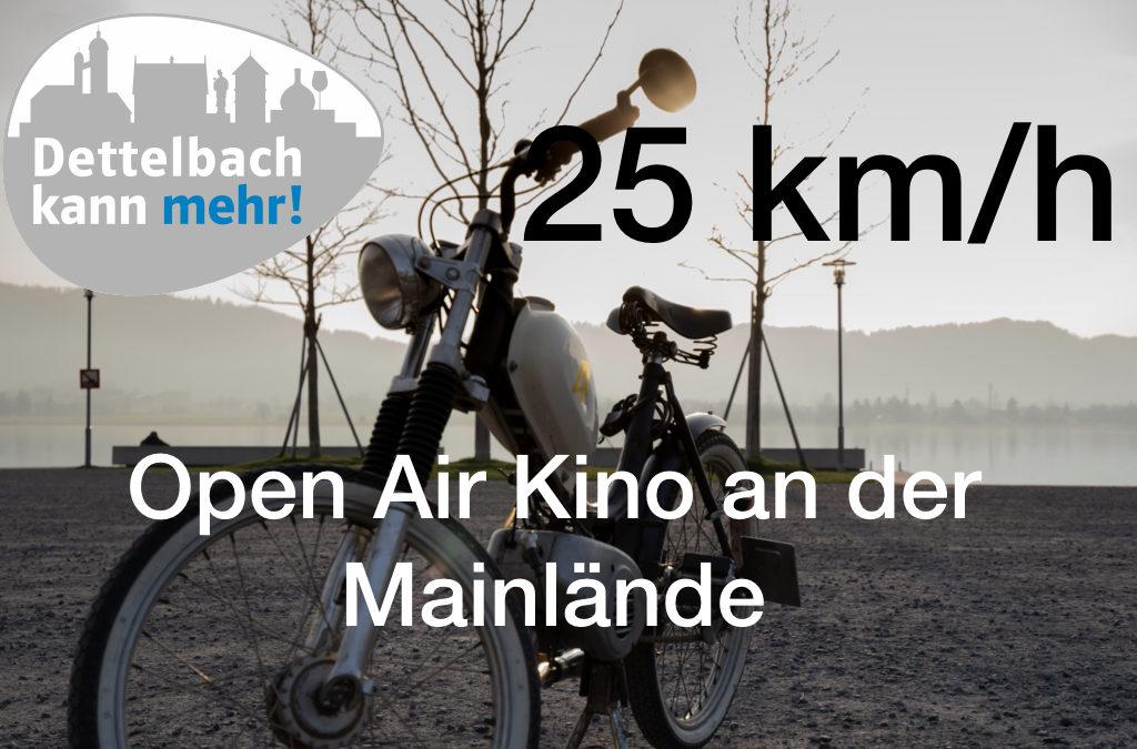 """1. Dettelbacher OpenAir-Kino zeigt """"25 km/h"""""""