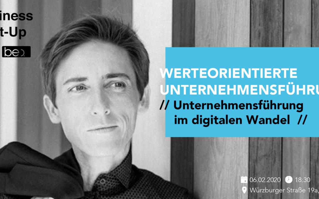 Februar-Dettelbacher Unternehmertreff: Werte im digitalen Wandel mit Gabi Stratmann