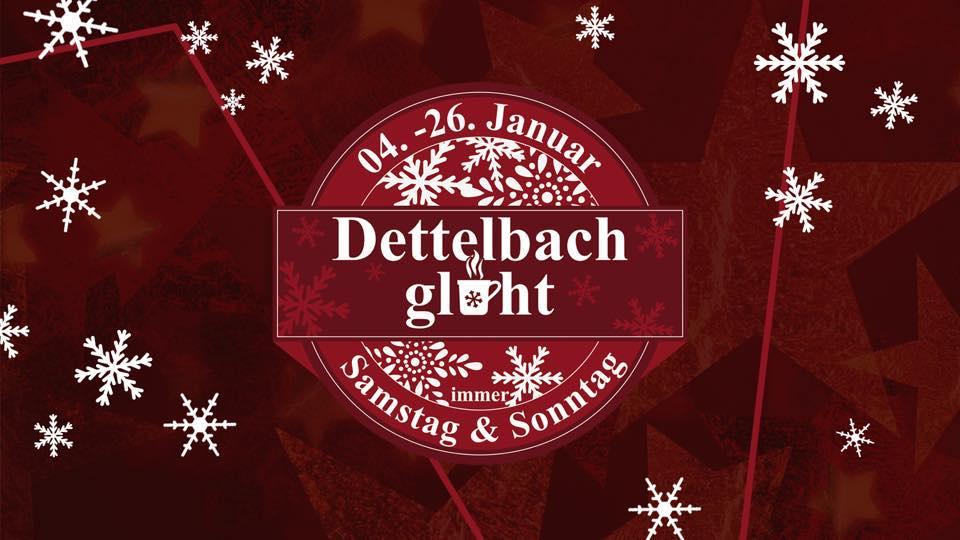 Dettelbach glüht! Die Glühweinhütte am Dettelbacher Marktplatz war ein großer Erfolg