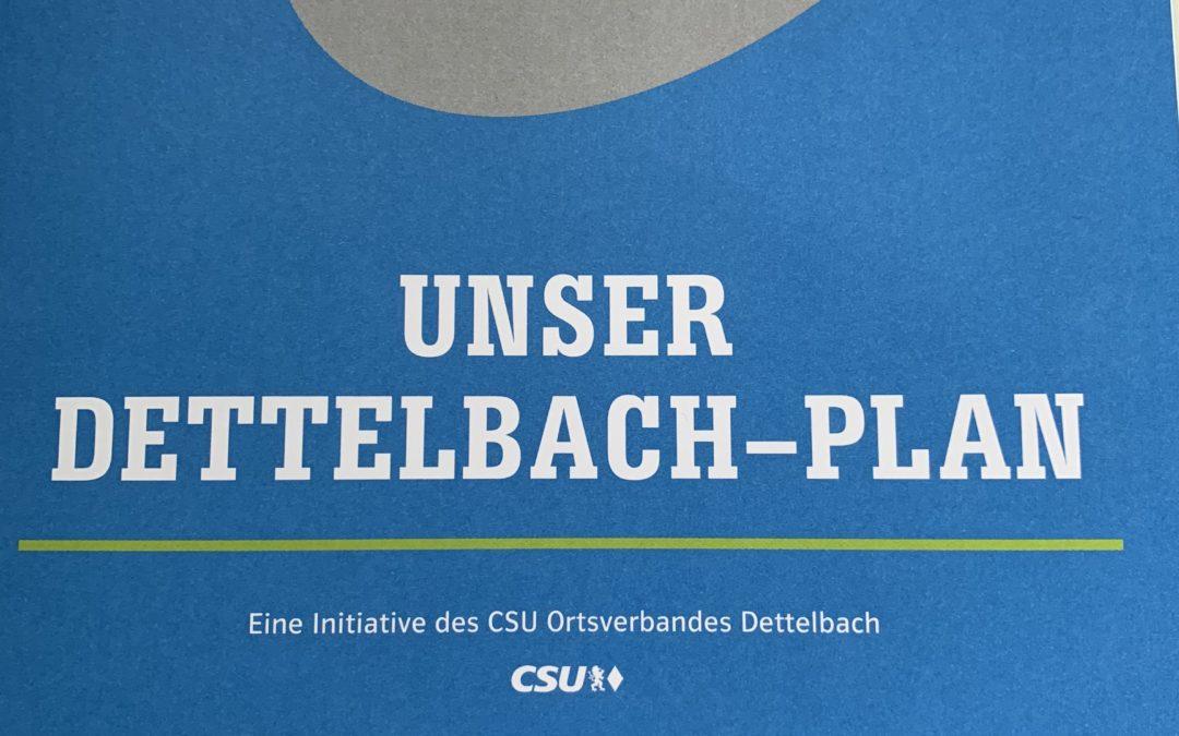 Der Dettelbach-Plan als Vision für die Zukunft
